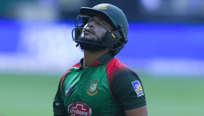 (ICC) has banned Bangladesh captain Shakib Al Hasan from all cricket for two years