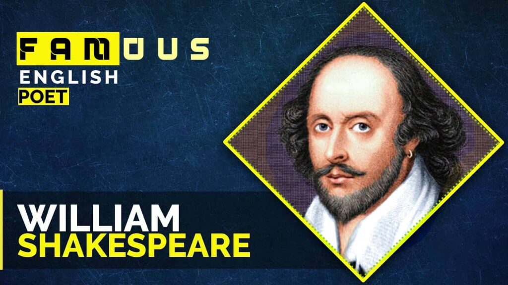 Famous English Poets । Novelists । Top 10 English Writers William Shakespeare