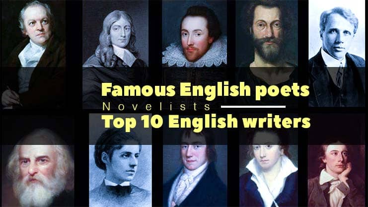 Famous English poets । Novelists । Top 10 English writers all time Largest Stage