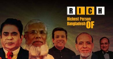 Richest Person of Bangladesh Largest stage